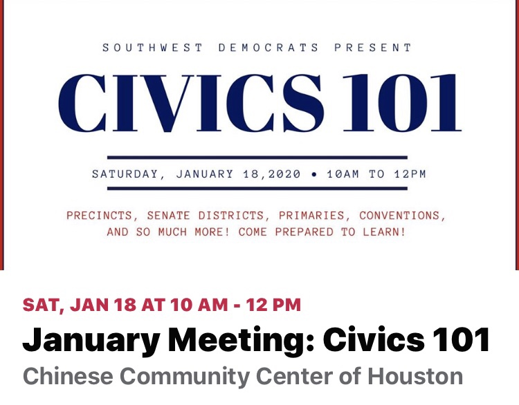 Civics 101 Meeting