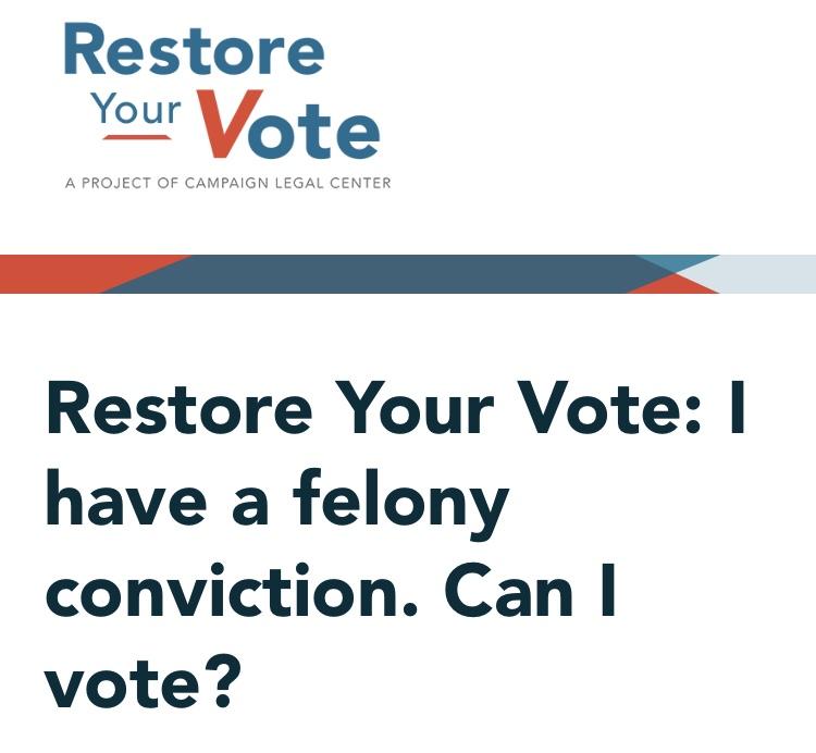 Restore Your Vote